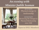 Physical energy in mediumship with Minister Judith Seaman.