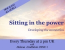 Sitting in the Power /Developing the Connection with Helena Lindblom CSNUt