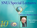 Special Lecture with Minister Matthew Smith