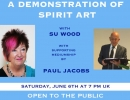 A Demonstration of Spirit Art with Su Wood and Paul Jacobs